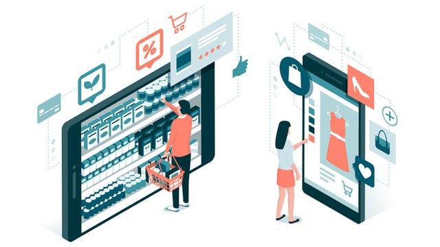 Skyltning butik - Digital-signage-butik-cleversign